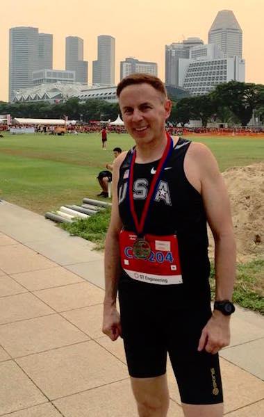 Army Half Marathon finisher